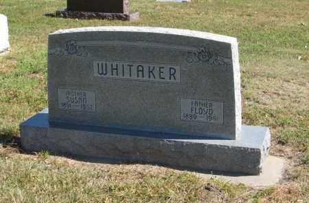 WHITAKER, FLOYD - Holt County, Nebraska | FLOYD WHITAKER - Nebraska Gravestone Photos