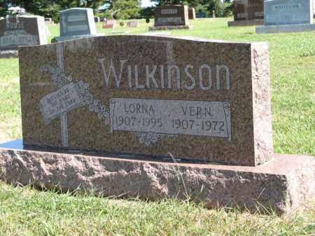 WILKINSON, LORNA - Holt County, Nebraska | LORNA WILKINSON - Nebraska Gravestone Photos