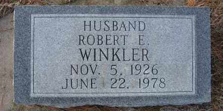 WINKLER, ROBERT E - Holt County, Nebraska | ROBERT E WINKLER - Nebraska Gravestone Photos