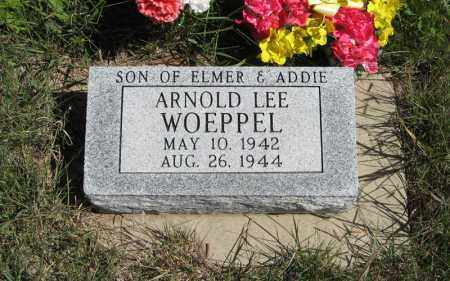 WOEPPEL, ARNOLD LEE - Holt County, Nebraska | ARNOLD LEE WOEPPEL - Nebraska Gravestone Photos