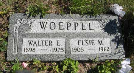 WOEPPEL, ELSIE M. - Holt County, Nebraska | ELSIE M. WOEPPEL - Nebraska Gravestone Photos