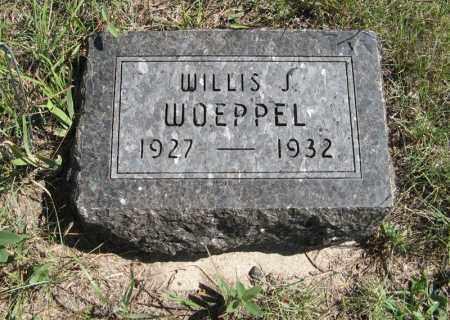 WOEPPEL, WILLIS J. - Holt County, Nebraska | WILLIS J. WOEPPEL - Nebraska Gravestone Photos