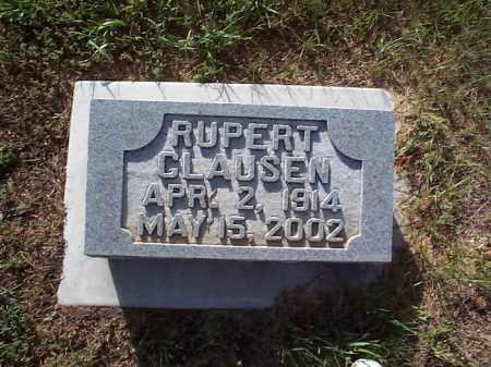 CLAUSEN, RUPERT - Howard County, Nebraska | RUPERT CLAUSEN - Nebraska Gravestone Photos