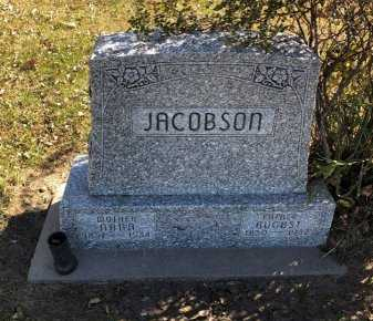 JACOBSON, AUGUST - Howard County, Nebraska | AUGUST JACOBSON - Nebraska Gravestone Photos