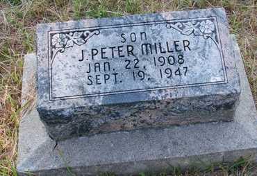 MILLER, J. PETER - Howard County, Nebraska   J. PETER MILLER - Nebraska Gravestone Photos