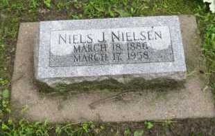 NIELSEN, NIELS J. - Howard County, Nebraska | NIELS J. NIELSEN - Nebraska Gravestone Photos