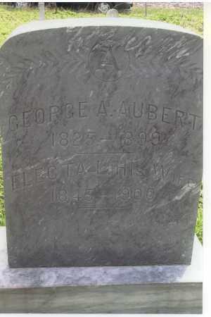 AUBERT, GEORGE A. - Jefferson County, Nebraska | GEORGE A. AUBERT - Nebraska Gravestone Photos