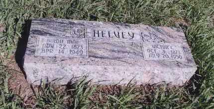 HELVEY, BIRDIE MAE - Jefferson County, Nebraska | BIRDIE MAE HELVEY - Nebraska Gravestone Photos