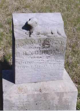HELVEY, DONALD GORDON - Jefferson County, Nebraska | DONALD GORDON HELVEY - Nebraska Gravestone Photos