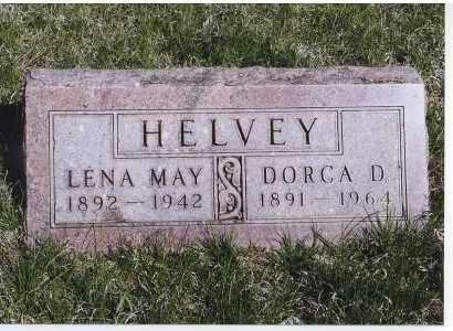 HELVEY, LENA MAY - Jefferson County, Nebraska | LENA MAY HELVEY - Nebraska Gravestone Photos