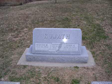 KUJATH, MARTHA - Jefferson County, Nebraska | MARTHA KUJATH - Nebraska Gravestone Photos