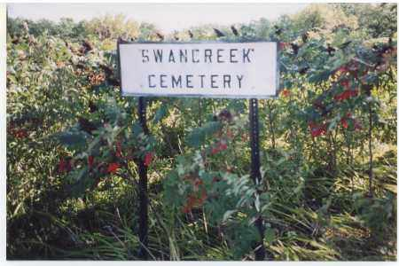 *SWAN CREEK CEMETERY, SIGN FOR - Jefferson County, Nebraska | SIGN FOR *SWAN CREEK CEMETERY - Nebraska Gravestone Photos