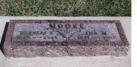 MOORE, ULYSSES S. - Jefferson County, Nebraska | ULYSSES S. MOORE - Nebraska Gravestone Photos