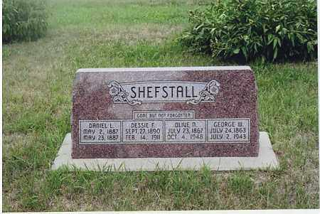 SHEFSTALL, DANIEL L. - Jefferson County, Nebraska | DANIEL L. SHEFSTALL - Nebraska Gravestone Photos