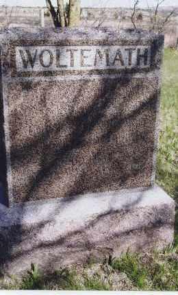 WOLTEMATH, AUGUSTA - Jefferson County, Nebraska | AUGUSTA WOLTEMATH - Nebraska Gravestone Photos