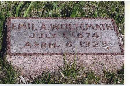WOLTEMATH, EMIL A. - Jefferson County, Nebraska   EMIL A. WOLTEMATH - Nebraska Gravestone Photos