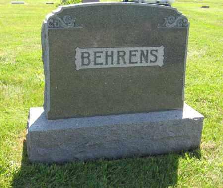BEHRENS, FAMILY - Johnson County, Nebraska | FAMILY BEHRENS - Nebraska Gravestone Photos