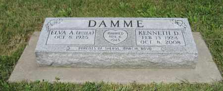 DAMME, KENNETH D. - Johnson County, Nebraska | KENNETH D. DAMME - Nebraska Gravestone Photos
