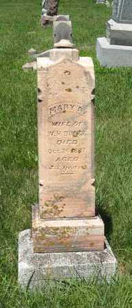 DIMICK, MARY A. - Johnson County, Nebraska | MARY A. DIMICK - Nebraska Gravestone Photos