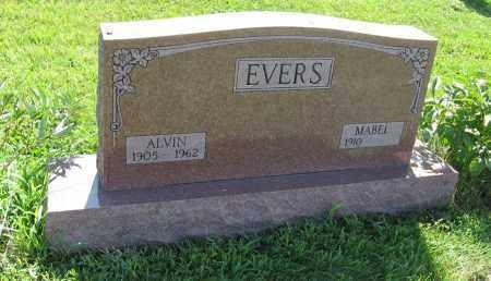 EVERS, ALVIN - Johnson County, Nebraska | ALVIN EVERS - Nebraska Gravestone Photos