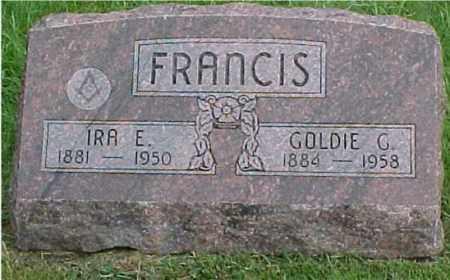 FRANCIS, GOLDIE - Johnson County, Nebraska | GOLDIE FRANCIS - Nebraska Gravestone Photos
