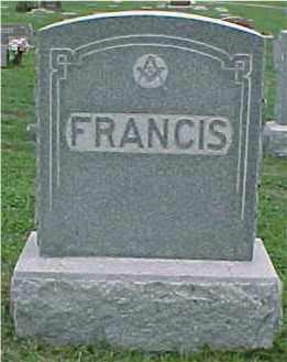 SWEARINGER FRANCIS, VERONA - Johnson County, Nebraska | VERONA SWEARINGER FRANCIS - Nebraska Gravestone Photos