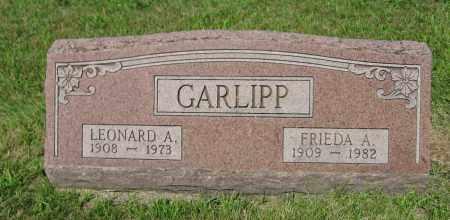 GARLIPP, FRIEDA A. - Johnson County, Nebraska | FRIEDA A. GARLIPP - Nebraska Gravestone Photos