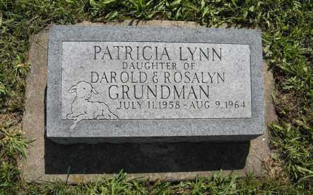 GRUNDMAN, PATRICIA LYNN - Johnson County, Nebraska | PATRICIA LYNN GRUNDMAN - Nebraska Gravestone Photos