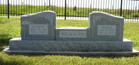 RIENSCHE, GILBERT - Johnson County, Nebraska | GILBERT RIENSCHE - Nebraska Gravestone Photos