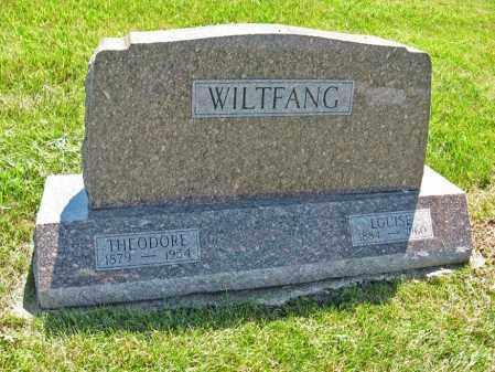 WILTFANG, LOUISE - Johnson County, Nebraska   LOUISE WILTFANG - Nebraska Gravestone Photos