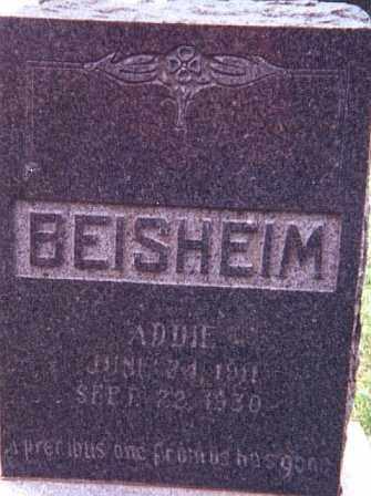 BEISHEIM, ADDIE - Kearney County, Nebraska | ADDIE BEISHEIM - Nebraska Gravestone Photos