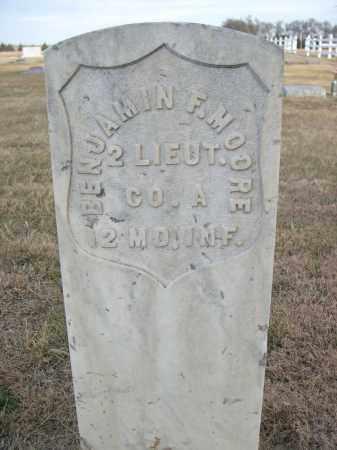 MOORE, BENJAMIN F. - Keith County, Nebraska | BENJAMIN F. MOORE - Nebraska Gravestone Photos
