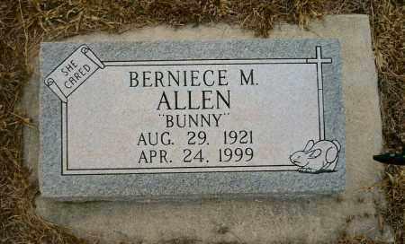 ALLEN, BERNIECE M. (BUNNY) - Keya Paha County, Nebraska | BERNIECE M. (BUNNY) ALLEN - Nebraska Gravestone Photos