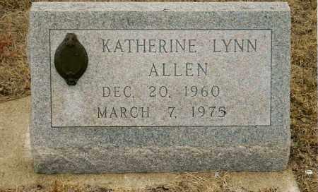 ALLEN, KATHERINE LYNN - Keya Paha County, Nebraska | KATHERINE LYNN ALLEN - Nebraska Gravestone Photos