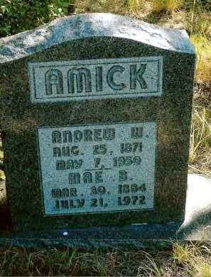 AMICK, ANDREW W. (WES) - Keya Paha County, Nebraska | ANDREW W. (WES) AMICK - Nebraska Gravestone Photos