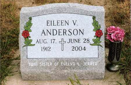 ANDERSON, EILEEN V. - Keya Paha County, Nebraska | EILEEN V. ANDERSON - Nebraska Gravestone Photos