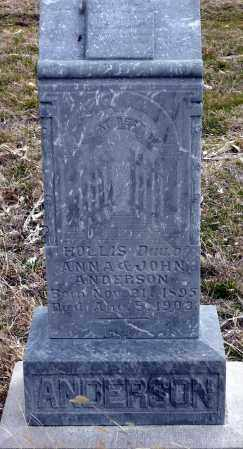 ANDERSON, HOLLIS - Keya Paha County, Nebraska   HOLLIS ANDERSON - Nebraska Gravestone Photos