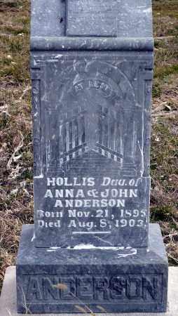 ANDERSON, HOLLIS - Keya Paha County, Nebraska | HOLLIS ANDERSON - Nebraska Gravestone Photos