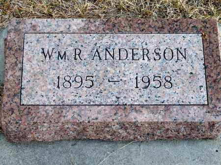 ANDERSON, WILLIAM R. - Keya Paha County, Nebraska | WILLIAM R. ANDERSON - Nebraska Gravestone Photos