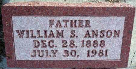 ANSON, WILLIAM S. - Keya Paha County, Nebraska | WILLIAM S. ANSON - Nebraska Gravestone Photos