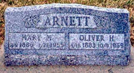 ARNETT, MARY M. - Keya Paha County, Nebraska | MARY M. ARNETT - Nebraska Gravestone Photos