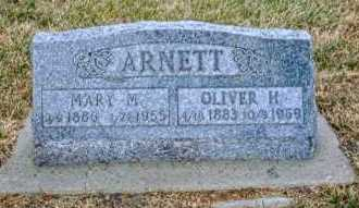 ARNETT, MARY M. - Keya Paha County, Nebraska | MARY M. ARNETT - Nebraska Gravestone Photos