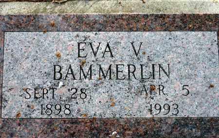 BAMMERLIN, EVA V. - Keya Paha County, Nebraska | EVA V. BAMMERLIN - Nebraska Gravestone Photos