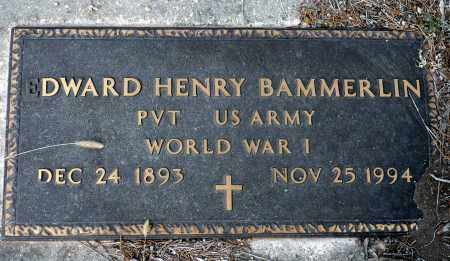 BAMMERLIN, EDWARD HENRY - Keya Paha County, Nebraska | EDWARD HENRY BAMMERLIN - Nebraska Gravestone Photos