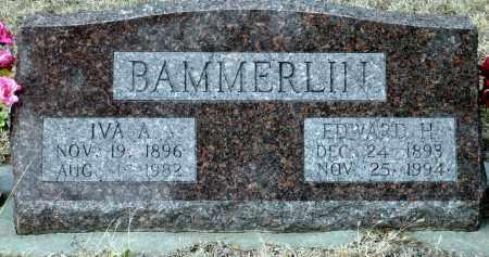 BAMMERLIN, EDWARD H. - Keya Paha County, Nebraska | EDWARD H. BAMMERLIN - Nebraska Gravestone Photos