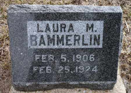 BAMMERLIN, LAURA M. - Keya Paha County, Nebraska | LAURA M. BAMMERLIN - Nebraska Gravestone Photos