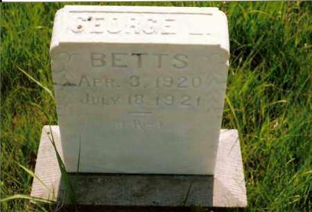 BETTS, GEORGE L. - Keya Paha County, Nebraska | GEORGE L. BETTS - Nebraska Gravestone Photos