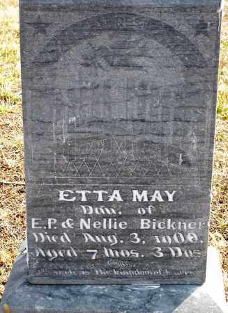 BICKNER, ETTA MAY - Keya Paha County, Nebraska | ETTA MAY BICKNER - Nebraska Gravestone Photos