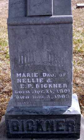 BICKNER, MARIE - Keya Paha County, Nebraska | MARIE BICKNER - Nebraska Gravestone Photos