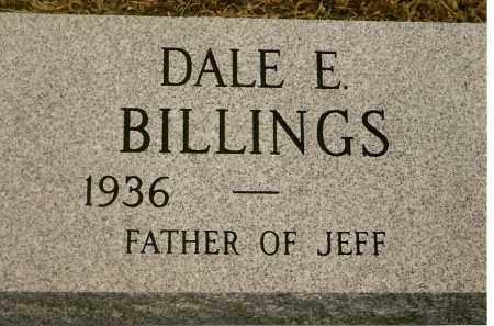 BILLINGS, DALE E. - Keya Paha County, Nebraska | DALE E. BILLINGS - Nebraska Gravestone Photos